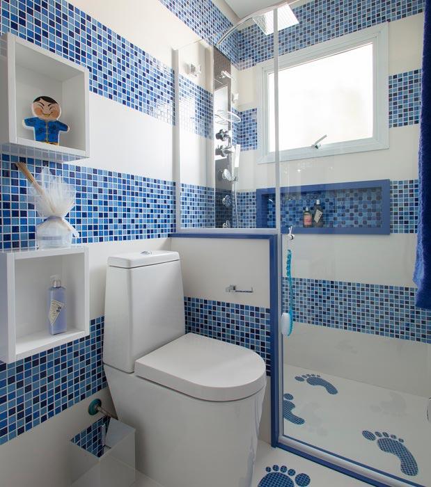 fotos de decoracao de interiores banheiros – Doitricom -> Banheiro Cim Pastilha