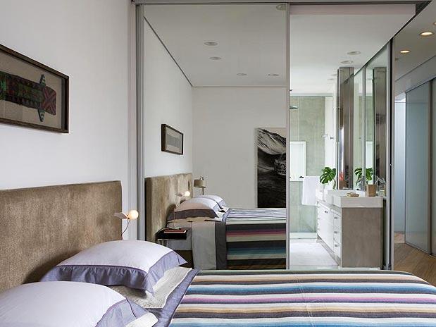 Banheiro Integrado Ao Quarto Pequeno ~ Cama Gavetas na cama s?o uma boa op??o para ambientes pequenos